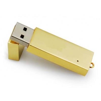 zlatý USB flash disk
