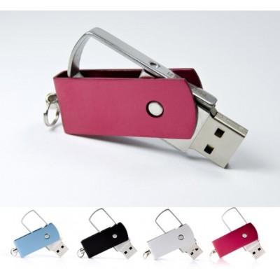 Kovový USB flash disk s otočným krytem
