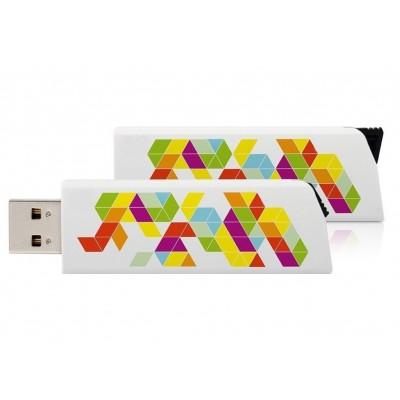 Vysunovací plastový USB flash disk
