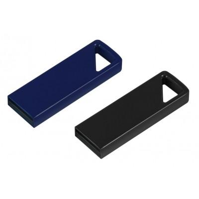 Kompaktní USB flash disk šedý nebo modrý