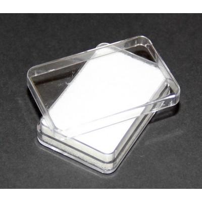 Plastová krabička průhledná