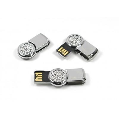 značkový otočný mini USB flash disk EMTEC - VÝPRODEJ