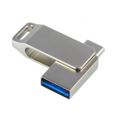 mini OTG USB flash disk otočný type-C